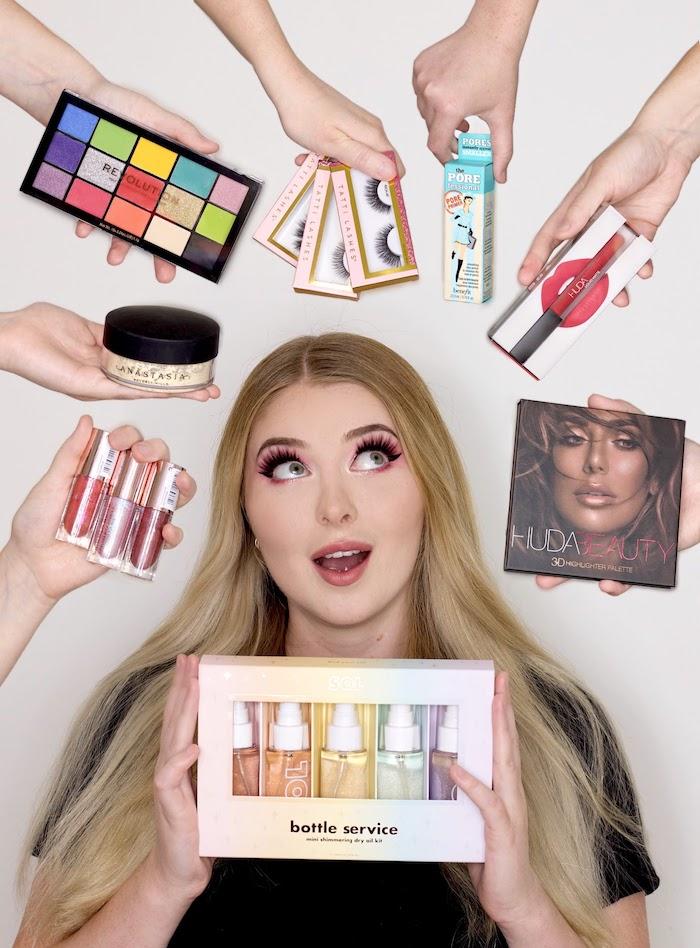 Paula Wolf mit Make-up